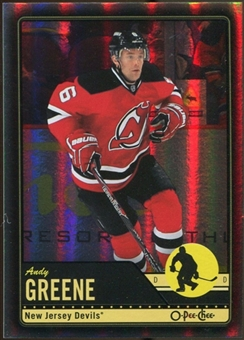 2012/13 Upper Deck O-Pee-Chee Black Rainbow #173 Andy Greene 50/100