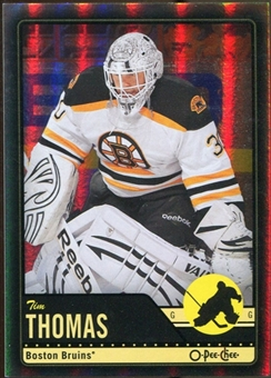 2012/13 Upper Deck O-Pee-Chee Black Rainbow #186 Tim Thomas 83/100