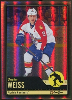 2012/13 Upper Deck O-Pee-Chee Black Rainbow #195 Stephen Weiss 4/100