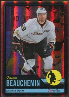 2012/13 Upper Deck O-Pee-Chee Black Rainbow #219 Francois Beauchemin 34/100