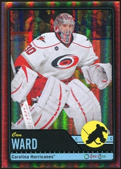 2012/13 Upper Deck O-Pee-Chee Black Rainbow #221 Cam Ward 20/100