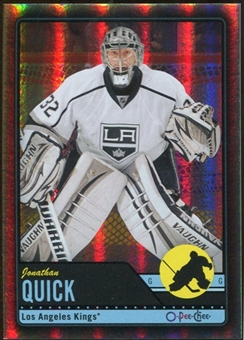 2012/13 Upper Deck O-Pee-Chee Black Rainbow #222 Jonathan Quick 3/100