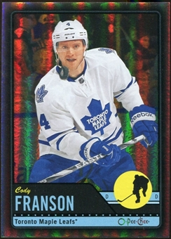 2012/13 Upper Deck O-Pee-Chee Black Rainbow #246 Cody Franson 56/100