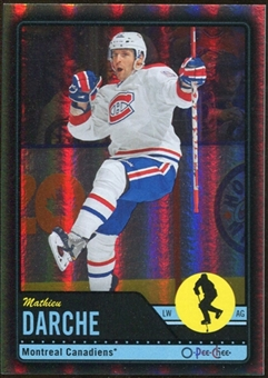 2012/13 Upper Deck O-Pee-Chee Black Rainbow #247 Mathieu Darche 21/100