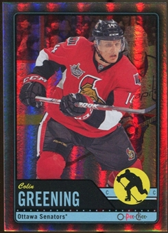 2012/13 Upper Deck O-Pee-Chee Black Rainbow #260 Colin Greening 37/100