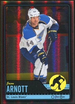 2012/13 Upper Deck O-Pee-Chee Black Rainbow #289 Jason Arnott 45/100