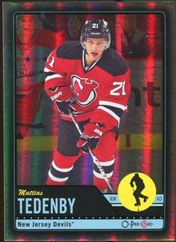 2012/13 Upper Deck O-Pee-Chee Black Rainbow #290 Mattias Tedenby 80/100
