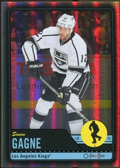 2012/13 Upper Deck O-Pee-Chee Black Rainbow #297 Simon Gagne 89/100