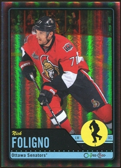 2012/13 Upper Deck O-Pee-Chee Black Rainbow #298 Nick Foligno 15/100