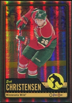 2012/13 Upper Deck O-Pee-Chee Black Rainbow #305 Erik Christensen 13/100