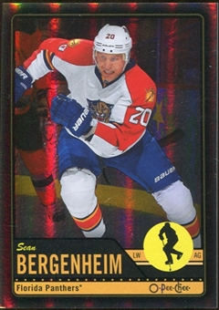 2012/13 Upper Deck O-Pee-Chee Black Rainbow #319 Sean Bergenheim 76/100
