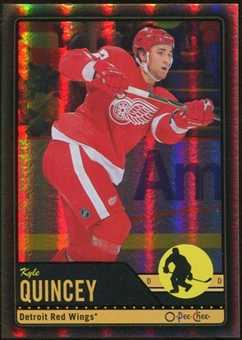 2012/13 Upper Deck O-Pee-Chee Black Rainbow #326 Kyle Quincey 93/100