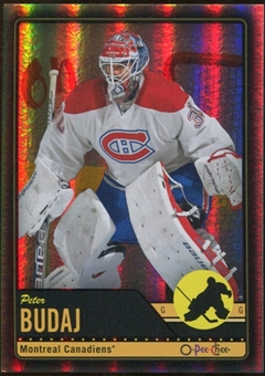 2012/13 Upper Deck O-Pee-Chee Black Rainbow #334 Peter Budaj 77/100