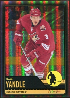 2012/13 Upper Deck O-Pee-Chee Black Rainbow #351 Keith Yandle 99/100