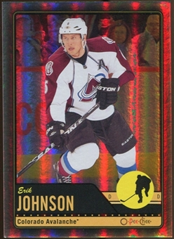 2012/13 Upper Deck O-Pee-Chee Black Rainbow #355 Erik Johnson 34/100