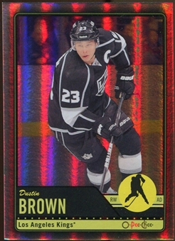 2012/13 Upper Deck O-Pee-Chee Black Rainbow #430 Dustin Brown 15/100