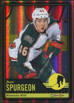 2012/13 Upper Deck O-Pee-Chee Black Rainbow #444 Jared Spurgeon 28/100