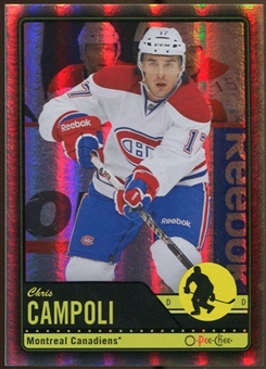 2012/13 Upper Deck O-Pee-Chee Black Rainbow #452 Chris Campoli 4/100