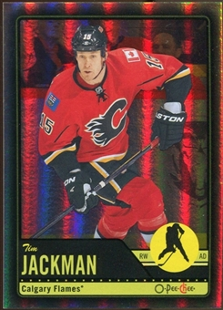 2012/13 Upper Deck O-Pee-Chee Black Rainbow #457 Tim Jackman 80/100