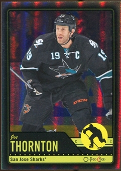 2012/13 Upper Deck O-Pee-Chee Black Rainbow #466 Joe Thornton 31/100