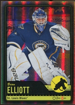 2012/13 Upper Deck O-Pee-Chee Black Rainbow #486 Brian Elliott 98/100