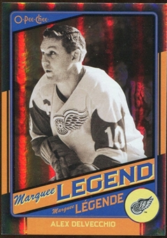 2012/13 Upper Deck O-Pee-Chee Black Rainbow #511 Alex Delvecchio /100