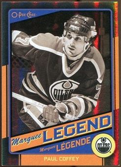 2012/13 Upper Deck O-Pee-Chee Black Rainbow #516 Paul Coffey 46/100