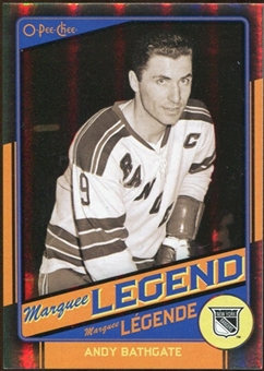 2012/13 Upper Deck O-Pee-Chee Black Rainbow #534 Andy Bathgate /100