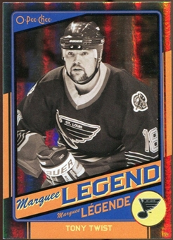 2012/13 Upper Deck O-Pee-Chee Black Rainbow #544 Tony Twist 29/100