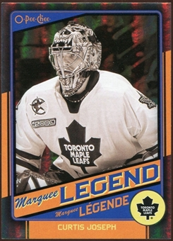 2012/13 Upper Deck O-Pee-Chee Black Rainbow #545 Curtis Joseph 53/100