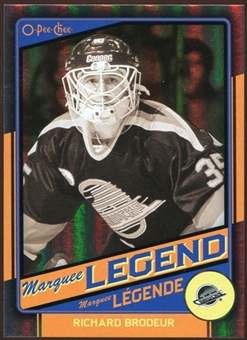 2012/13 Upper Deck O-Pee-Chee Black Rainbow #548 Richard Brodeur 42/100