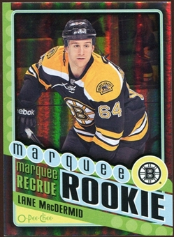 2012/13 Upper Deck O-Pee-Chee Black Rainbow #554 Lane MacDermid 29/100