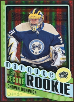 2012/13 Upper Deck O-Pee-Chee Black Rainbow #566 Shawn Hunwick 44/100