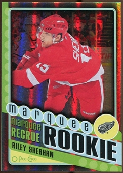 2012/13 Upper Deck O-Pee-Chee Black Rainbow #571 Riley Sheahan 26/100