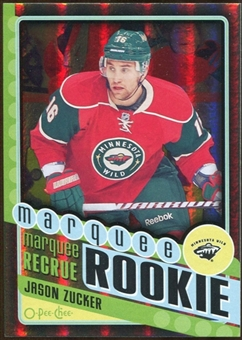 2012/13 Upper Deck O-Pee-Chee Black Rainbow #576 Jason Zucker 23/100