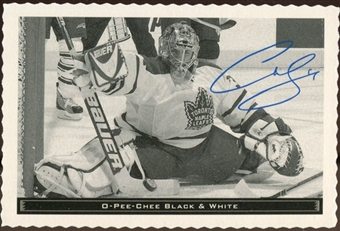 2012/13 Upper Deck O-Pee-Chee Black and White #8 Curtis Joseph