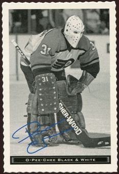 2012/13 Upper Deck O-Pee-Chee Black and White #30 Pelle Lindbergh