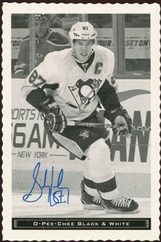 2012/13 Upper Deck O-Pee-Chee Black and White #33 Sidney Crosby