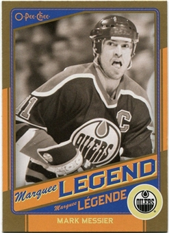 2012/13 Upper Deck O-Pee-Chee Marquee Legends Gold #G5 Mark Messier