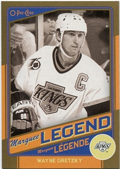 2012/13 Upper Deck O-Pee-Chee Marquee Legends Gold #G6 Wayne Gretzky