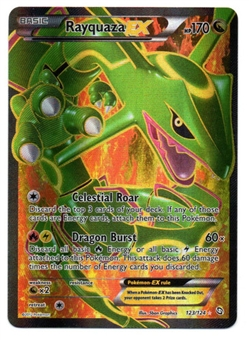 Pokemon Dragons Exalted Single Rayquaza ex 123/124