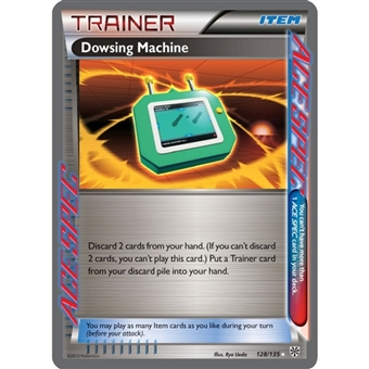 Pokemon Plasma Storm Single Trainer Dowsing Machine 128/135 - NEAR MINT (NM)