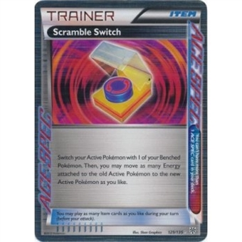 Pokemon Plasma Storm Single Trainer Scramble Switch 129/135 - NEAR MINT (NM)