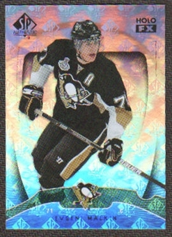 2009/10 Upper Deck SP Authentic Holoview FX #FX7 Evgeni Malkin