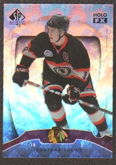 2009/10 Upper Deck SP Authentic Holoview FX #FX16 Jonathan Toews