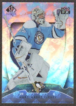 2009/10 Upper Deck SP Authentic Holoview FX #FX17 Marc-Andre Fleury
