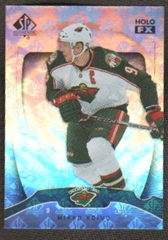 2009/10 Upper Deck SP Authentic Holoview FX #FX24 Mikko Koivu