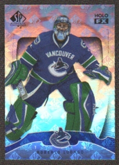 2009/10 Upper Deck SP Authentic Holoview FX #FX32 Roberto Luongo