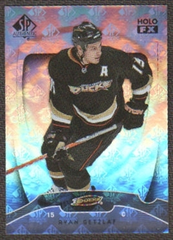 2009/10 Upper Deck SP Authentic Holoview FX #FX33 Ryan Getzlaf