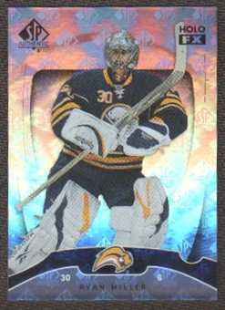 2009/10 Upper Deck SP Authentic Holoview FX #FX34 Ryan Miller